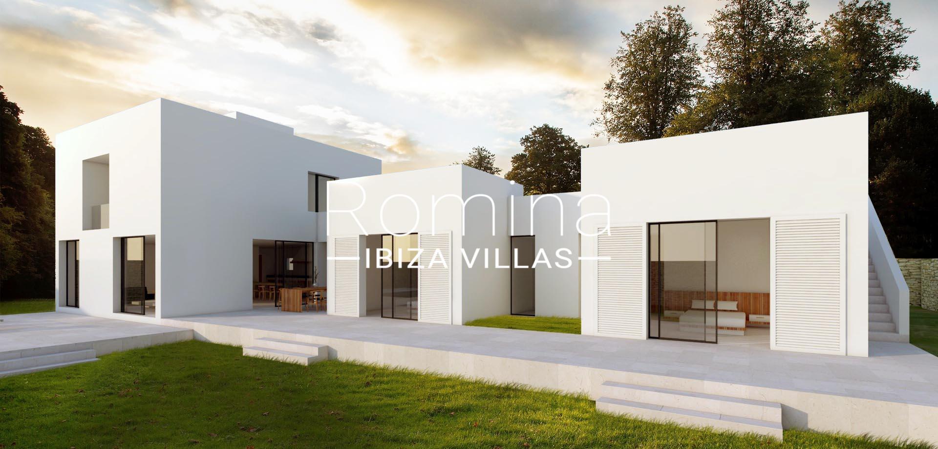 Casa con proyecto6projet1 romina ibiza villas for Case con casa suocera