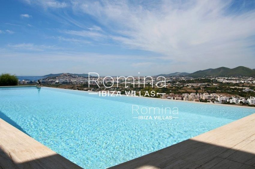 IBIZA PROPERTY VILLA VISTAS1pool sea view