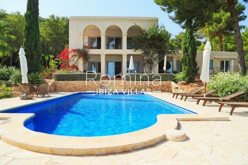 VILLA RASPALLSswimming pool facade