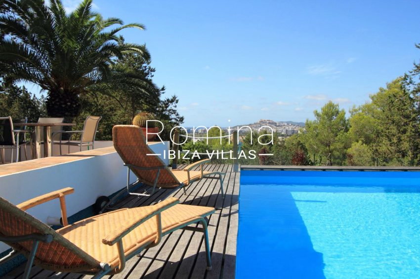 VILLA LHASA1poll sea view Dalt Vila