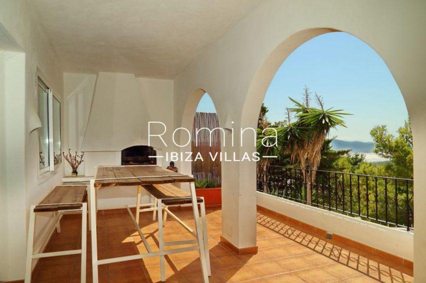 solyluna ibiza-terrace fireplace sea view 038