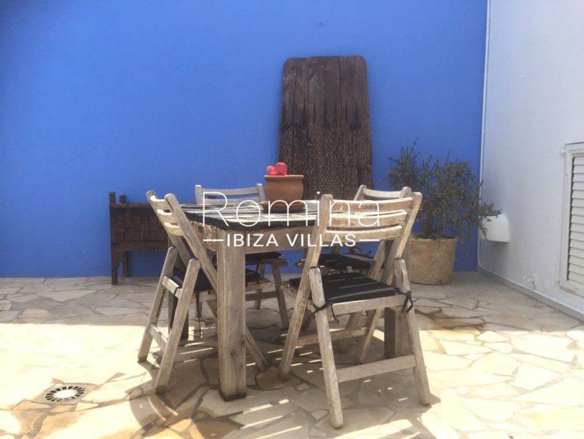 Calo azur ibiza - 2outdoor dining area