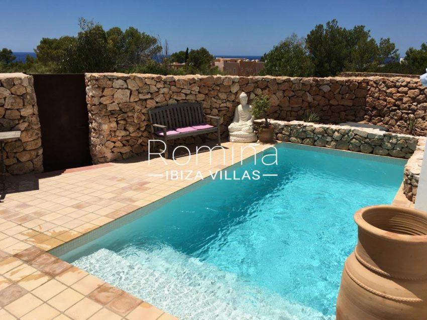 Calo azur ibiza - 2private pool terraces2