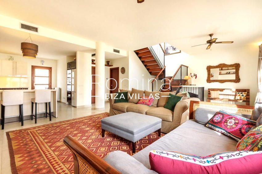 adosado pueblo ibiza - 3living room