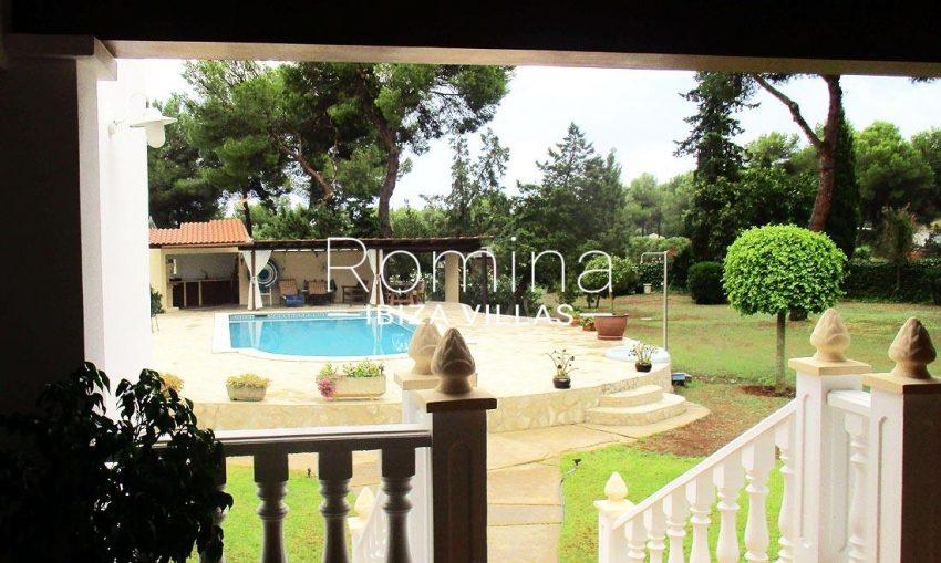 casa campo v ibiza-2swimming pool porch