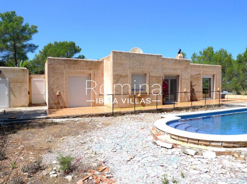 casa conta campo ibiza - 2swiiming pool facade