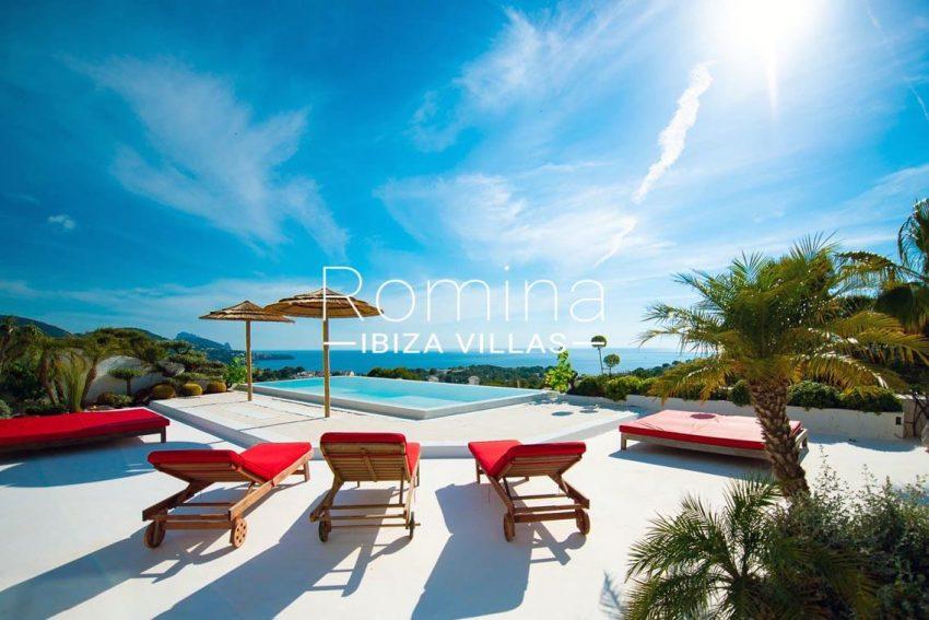 villa heaven fiesta-1pool terrace sea view2