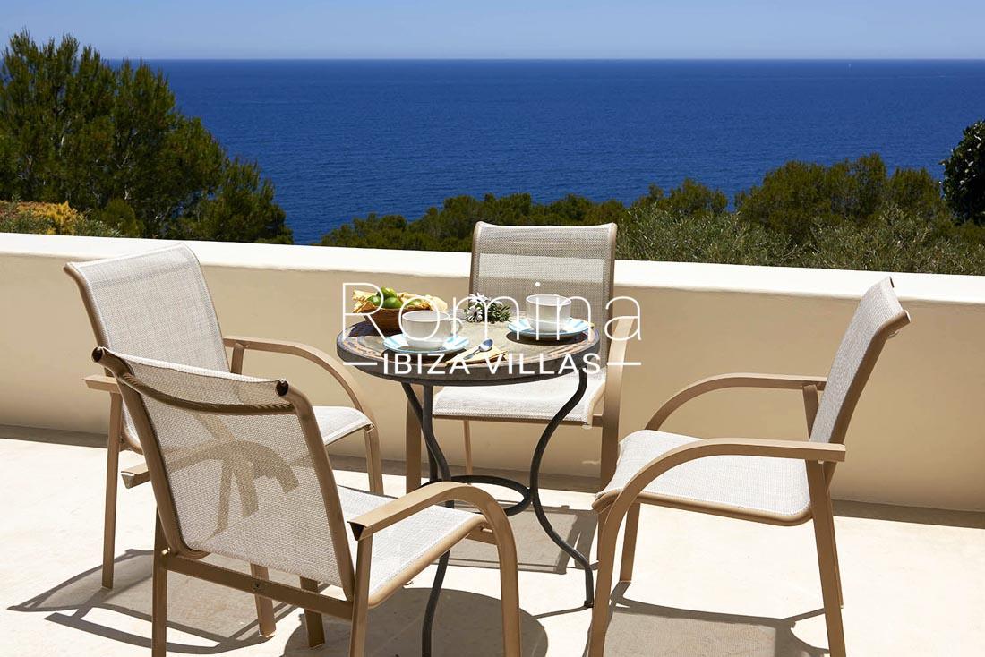 Villa roca llisa ibiza 1sea views dining area romina ibiza villas - Roca llisa ibiza ...