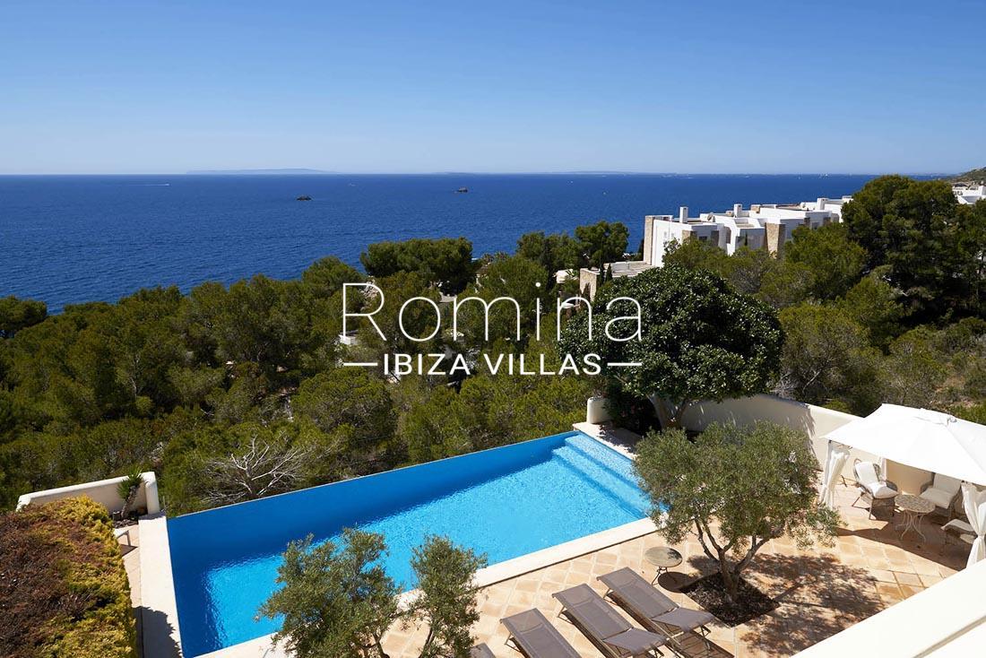Villa roca llisa ibiza 1sea views pool romina ibiza villas - Roca llisa ibiza ...