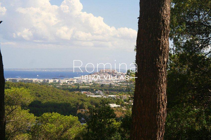 villa rustica ibiza-1sea view Dalt Vila