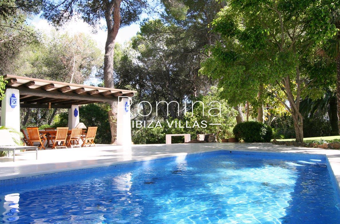 Villa rustica ibiza 2pool pool house romina ibiza villas for Villas rusticas