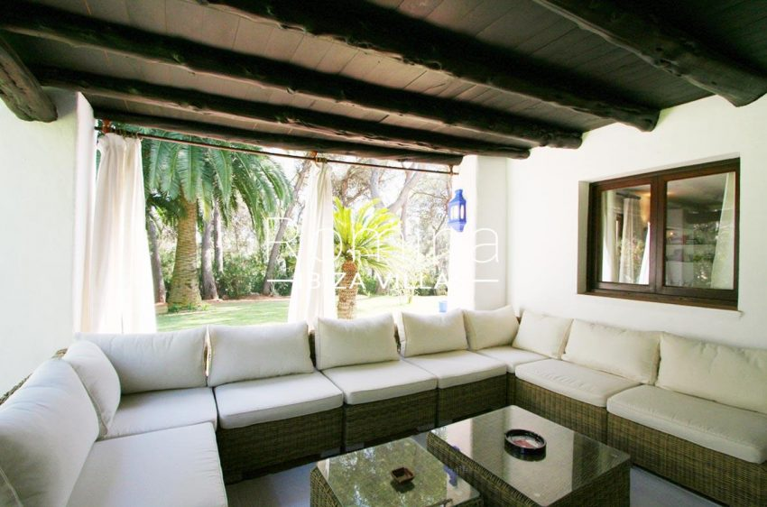 villa rustica ibiza-2terrace lounge