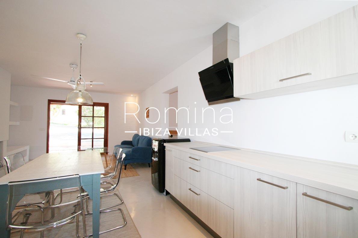 villa rustica ibiza-3zkitchen guest house – Romina Ibiza Villas