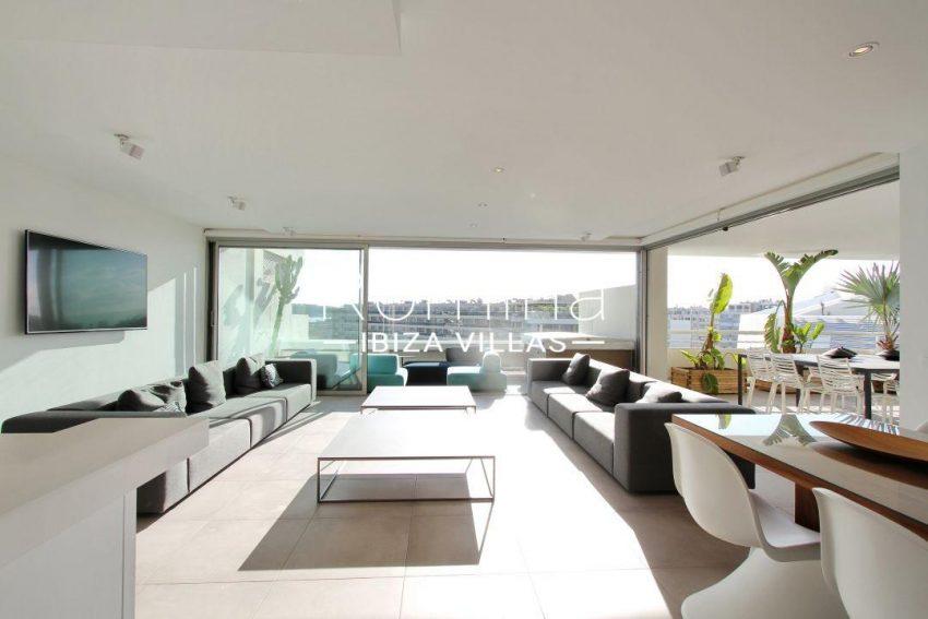 atico moderno-3living room view1