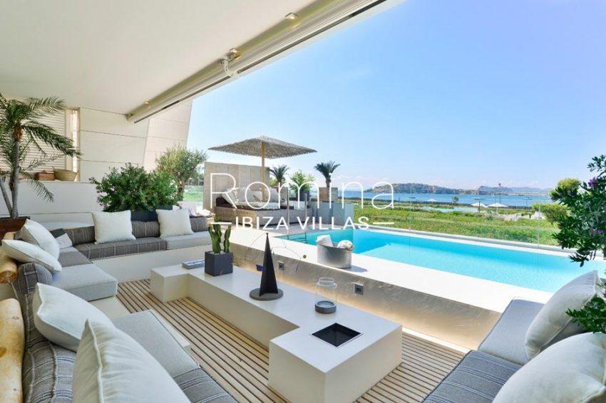 apartamento es pouet-1terrace pool sea view