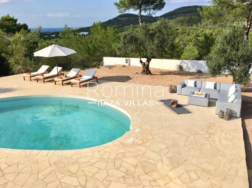 villa corazon-1sea view pool