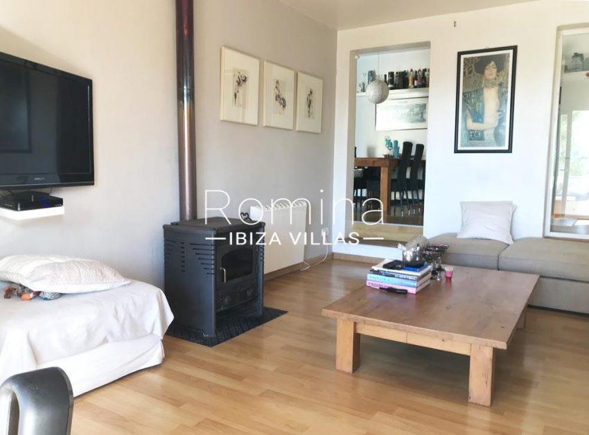 casa tomas-3living room stove