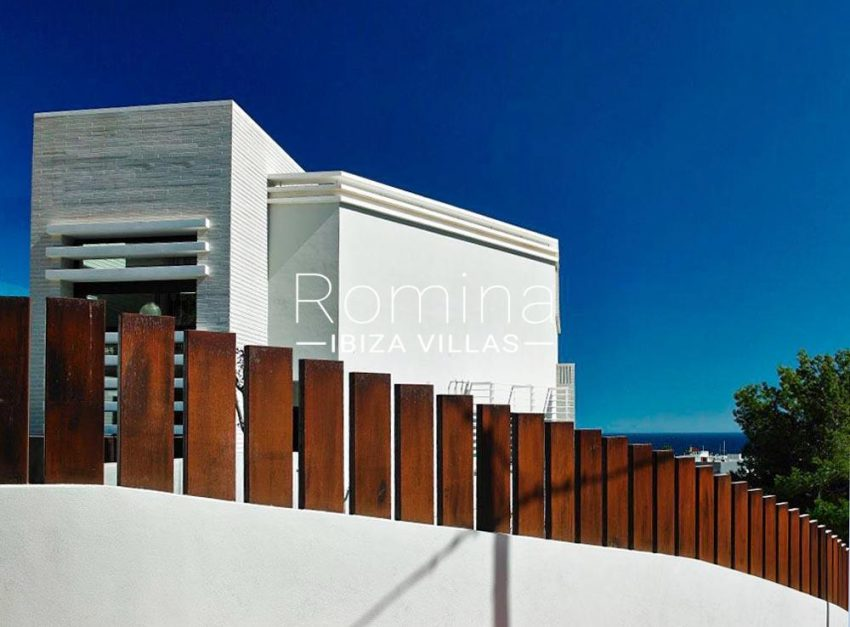 casa serena ibiza-1rear facade sea view