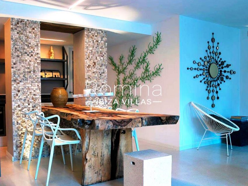 casa serena ibiza-3dining area