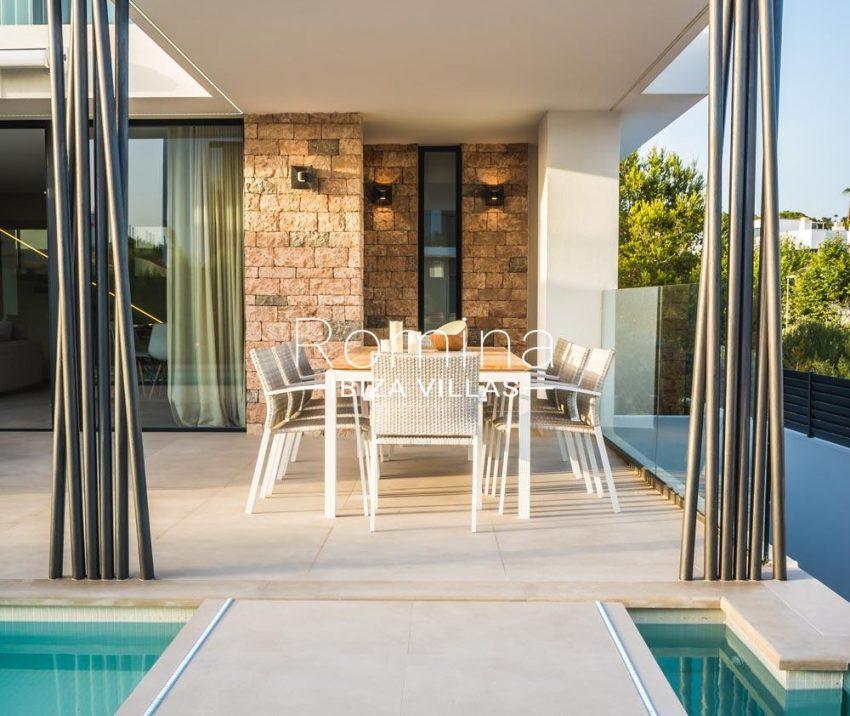 villa berria-2dining area terrace