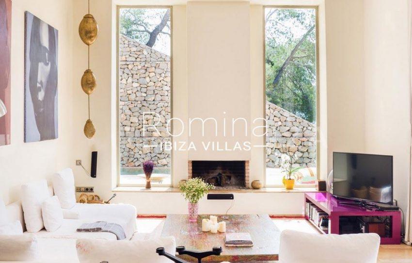 villa jaink-3living room fireplace