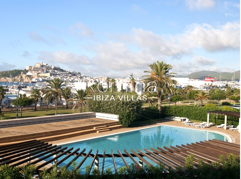 apto paseo ibiza-2piscina sea views Dalt Vila