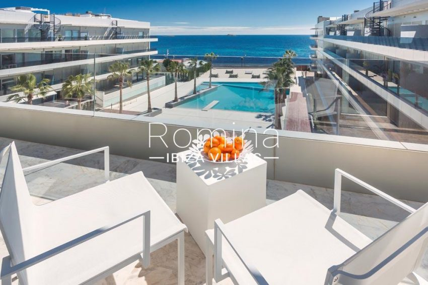 atico royal beach ibiza-1terrace seaviews