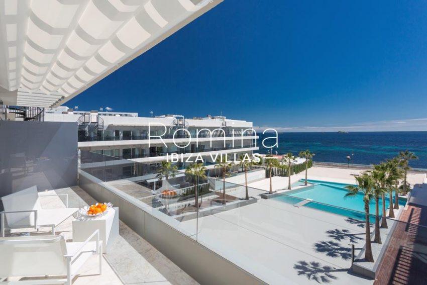atico royal beach ibiza-1terrace seaviews2