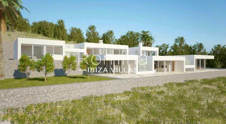 villa moderna m-2facade