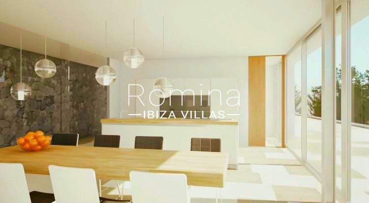 villa moderna m-3dining room kitchen