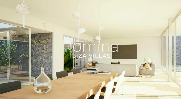villa moderna m-3living dining room