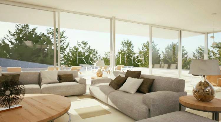 villa moderna m-3living room