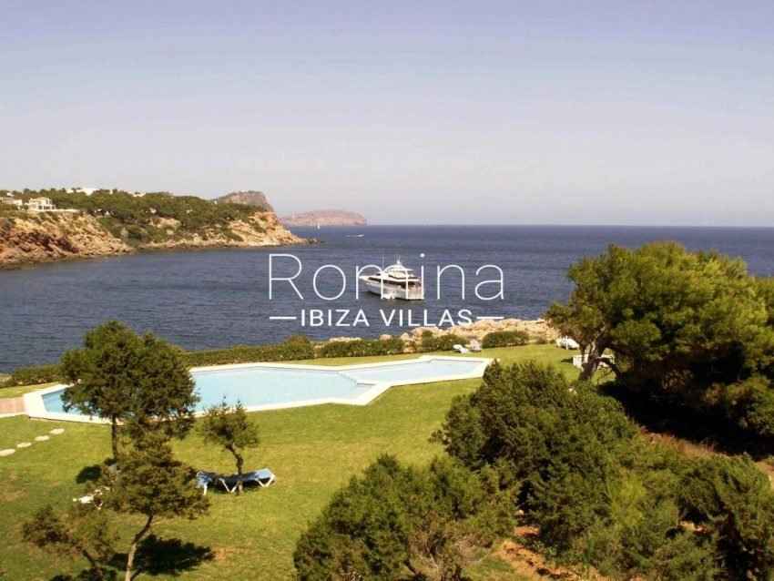 apto bellas vistas ibiza-1garden pool sea view2