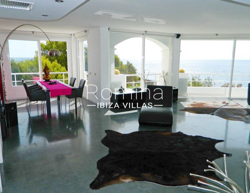 apto bellas vistas ibiza-3living room sea view