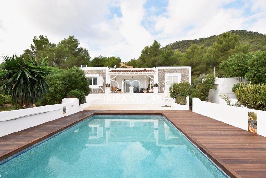 villa colinas ibiza-2pool facade
