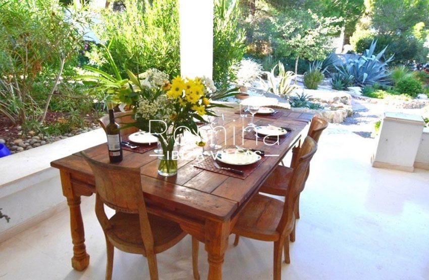 villa colinas ibiza-2terrace dining area2