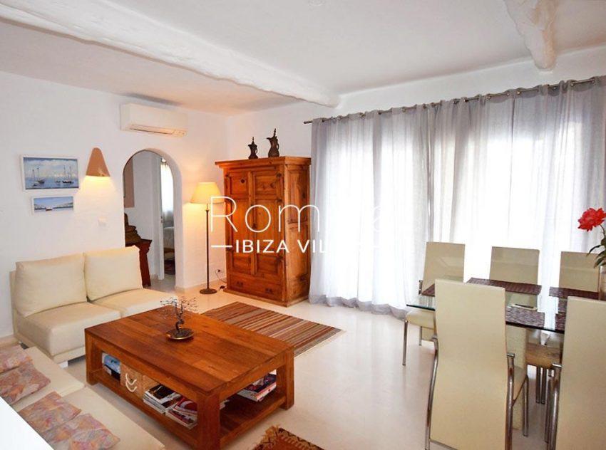 villa colinas ibiza-3living dining room