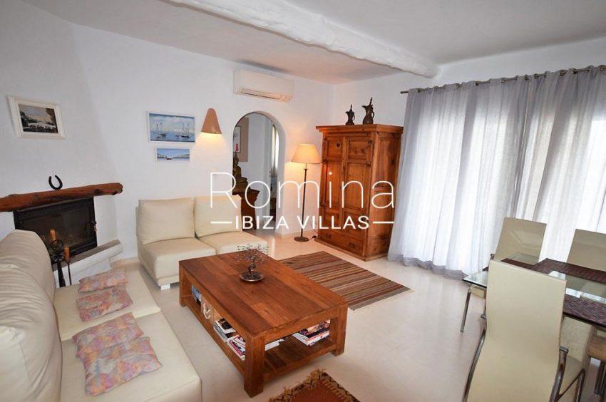 villa colinas ibiza-3living room fireplace2