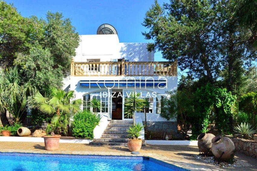 villa elora ibiza-2pool facade2