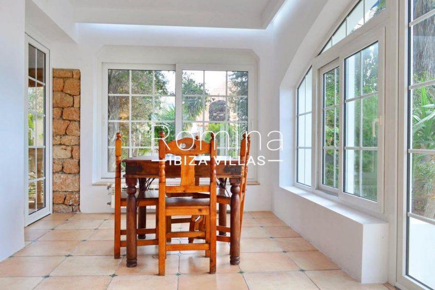 villa elora ibiza-3veranda dining room
