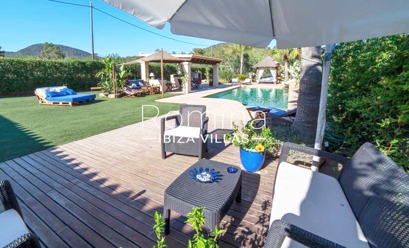 villa nati ibiza-2terrace pool