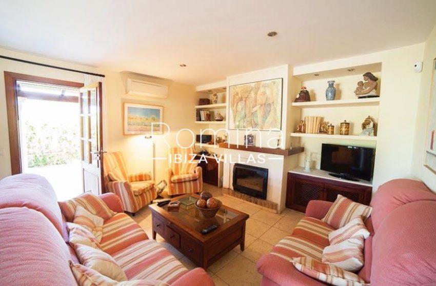 villa nati ibiza-3living room fireplace
