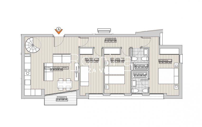 apartamentos ondoan ibiza-6plan 1st floor aptA2