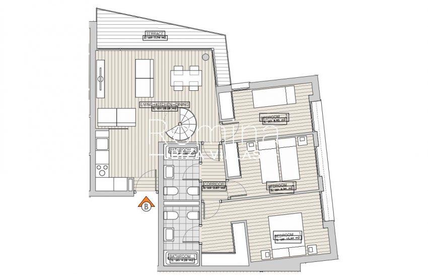 apartamentos ondoan ibiza-6plan 1st floor aptB2