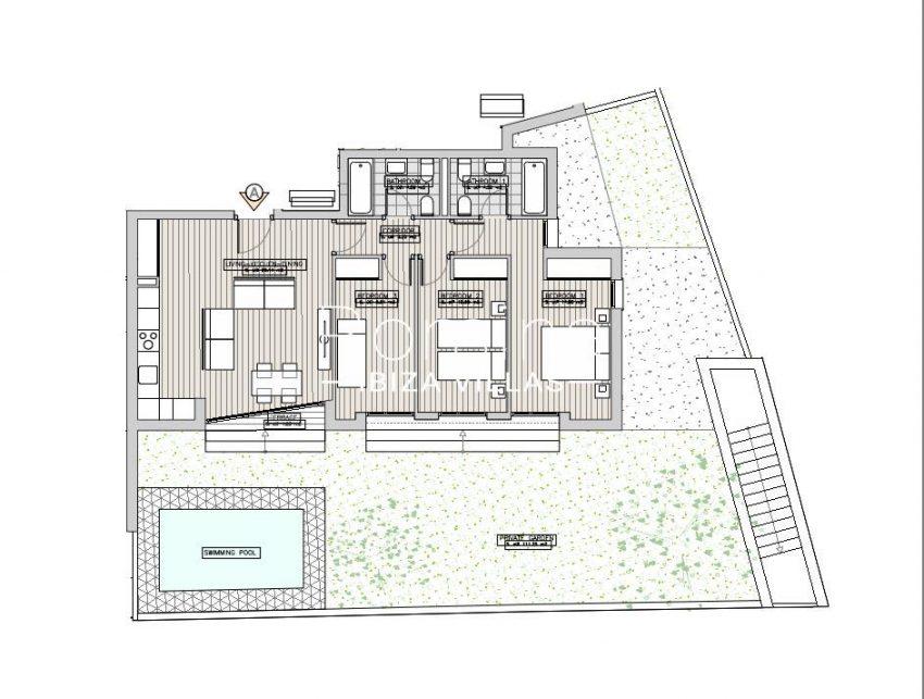 apartamentos ondoan ibiza-6plan ground floor apt A