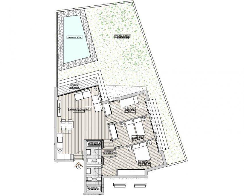 apartamentos ondoan ibiza-6plan ground floor apt B