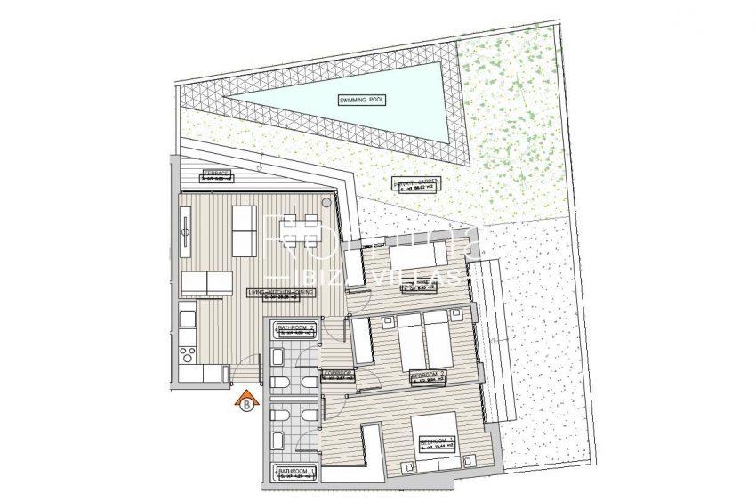 apartamentos ondoan ibiza-6plan ground floor apt B2