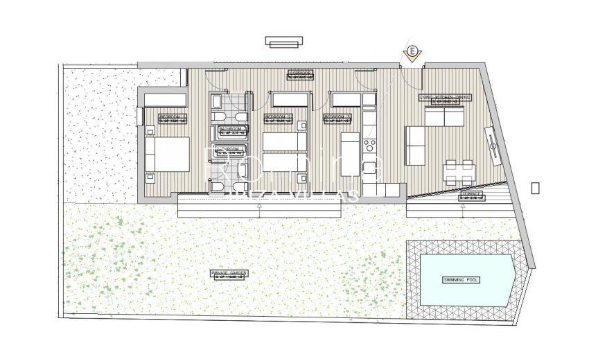 apartamentos ondoan ibiza-6plan ground floor apt E