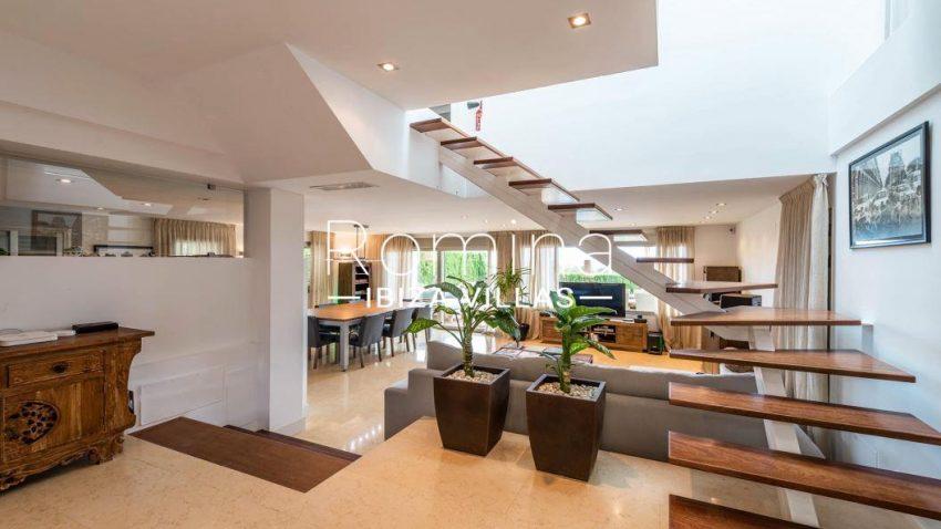 villa ederra ibiza-3entrance living room