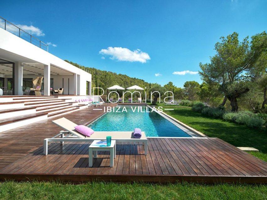 villa nahiko ibiza-2pool terraces lawn